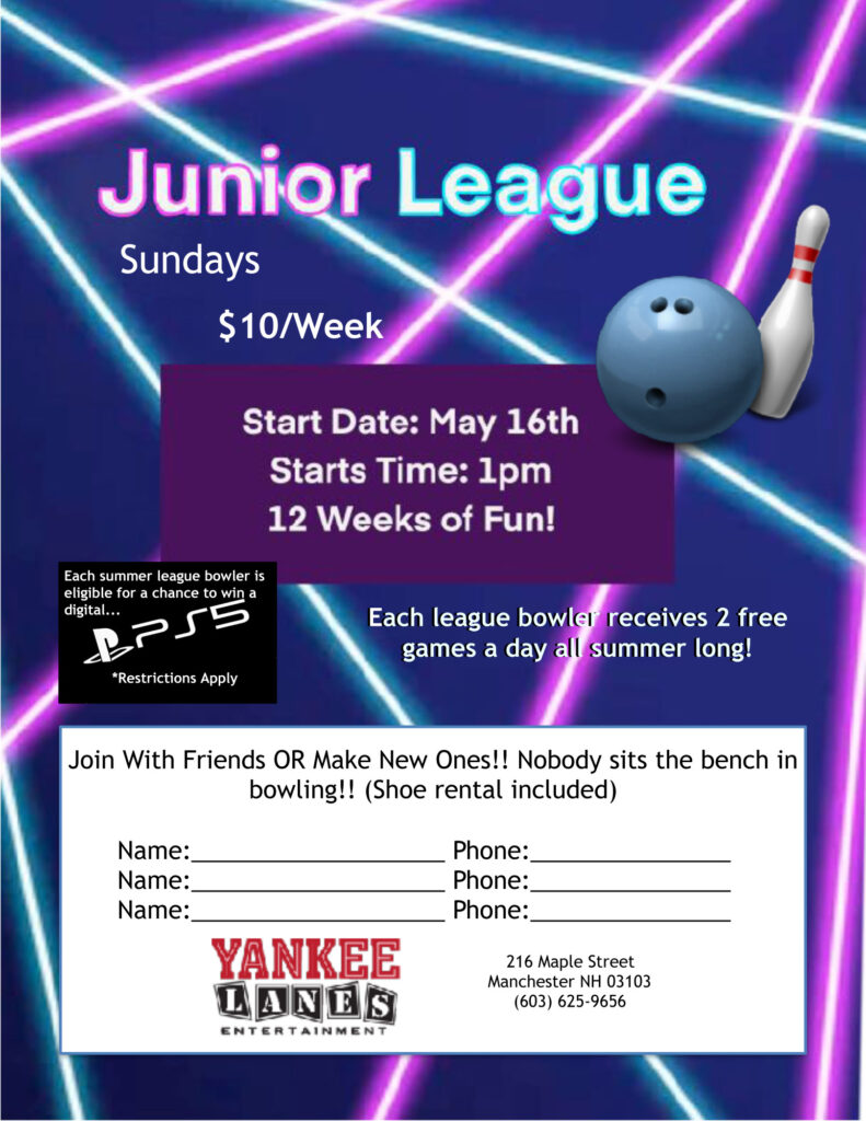 Junior Strikers League